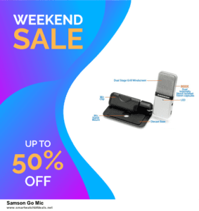 Grab 10 Best Black Friday and Cyber Monday Samson Go Mic Deals & Sales