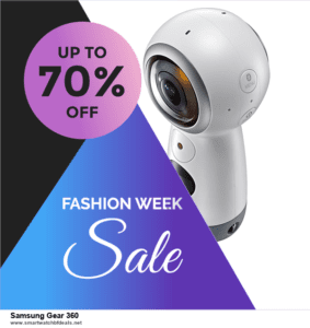 Top 10 Samsung Gear 360 Black Friday 2020 and Cyber Monday Deals