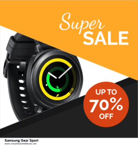Top 10 Samsung Gear Sport Black Friday 2020 and Cyber Monday Deals