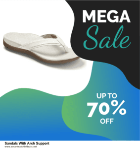 Top 5 Black Friday 2020 and Cyber Monday Sandals With Arch Support Deals [Grab Now]