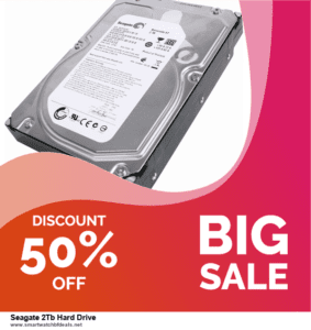 13 Best Black Friday and Cyber Monday 2020 Seagate 2Tb Hard Drive Deals [Up to 50% OFF]