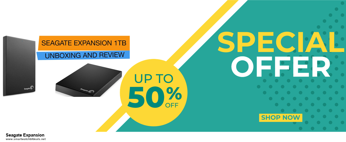 9 Best Black Friday and Cyber Monday Seagate Expansion Deals 2020 [Up to 40% OFF]