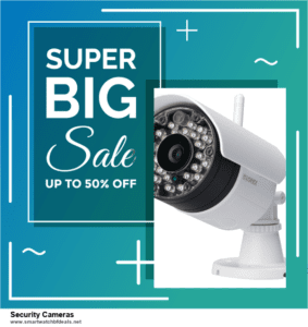 List of 6 Security Cameras Black Friday 2020 and Cyber MondayDeals [Extra 50% Discount]