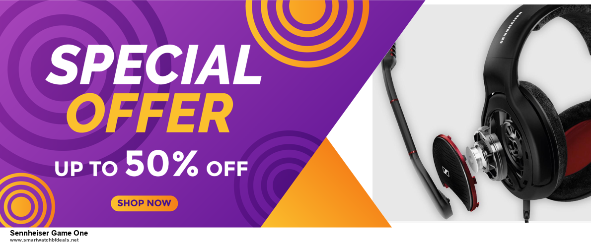 7 Best Sennheiser Game One Black Friday 2020 and Cyber Monday Deals [Up to 30% Discount]
