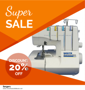 Grab 10 Best Black Friday and Cyber Monday Sergers Deals & Sales