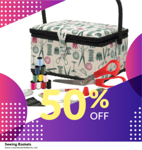 13 Best Black Friday and Cyber Monday 2020 Sewing Baskets Deals [Up to 50% OFF]