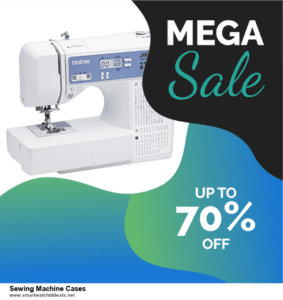 13 Best Black Friday and Cyber Monday 2020 Sewing Machine Cases Deals [Up to 50% OFF]