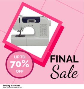 List of 6 Sewing Machines Black Friday 2020 and Cyber MondayDeals [Extra 50% Discount]