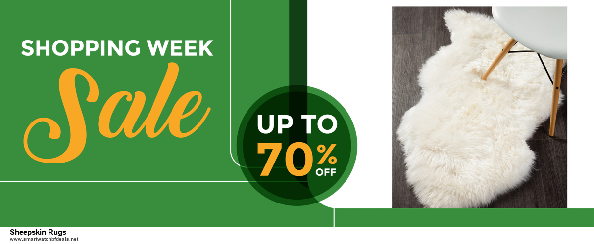 5 Best Sheepskin Rugs Black Friday 2020 and Cyber Monday Deals & Sales
