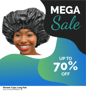 10 Best Shower Caps Long Hair Black Friday 2020 and Cyber Monday Deals Discount Coupons