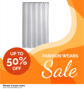 Grab 10 Best Black Friday and Cyber Monday Shower Curtain Liners Deals & Sales