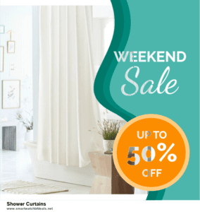 13 Exclusive Black Friday and Cyber Monday Shower Curtains Deals 2020