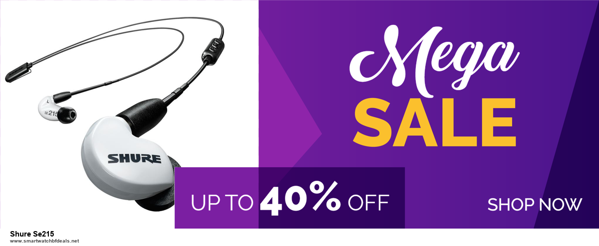 Top 10 Shure Se215 Black Friday 2020 and Cyber Monday Deals