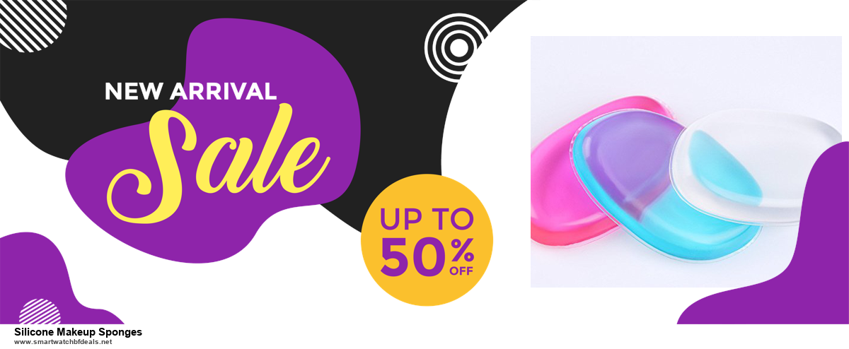 List of 6 Silicone Makeup Sponges Black Friday 2020 and Cyber MondayDeals [Extra 50% Discount]