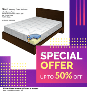 Top 5 Black Friday and Cyber Monday Silver Rest Memory Foam Mattress Deals 2020 Buy Now