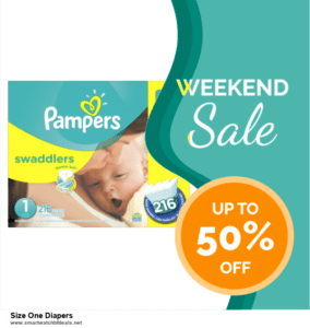 9 Best Black Friday and Cyber Monday Size One Diapers Deals 2020 [Up to 40% OFF]