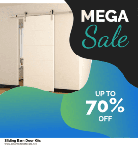 Top 5 Black Friday and Cyber Monday Sliding Barn Door Kits Deals 2020 Buy Now