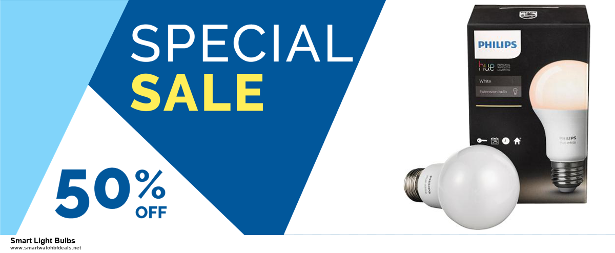 13 Exclusive Black Friday and Cyber Monday Smart Light Bulbs Deals 2020