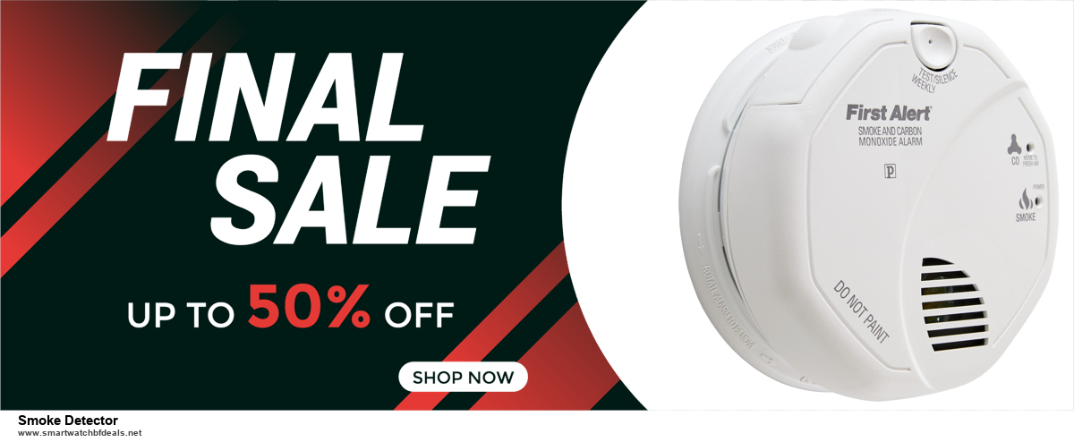 List of 6 Smoke Detector Black Friday 2020 and Cyber MondayDeals [Extra 50% Discount]