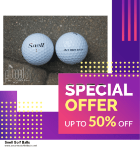 9 Best Black Friday and Cyber Monday Snell Golf Balls Deals 2020 [Up to 40% OFF]
