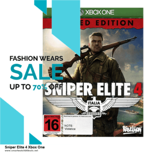 10 Best Sniper Elite 4 Xbox One Black Friday 2020 and Cyber Monday Deals Discount Coupons