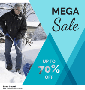 7 Best Snow Shovel Black Friday 2020 and Cyber Monday Deals [Up to 30% Discount]