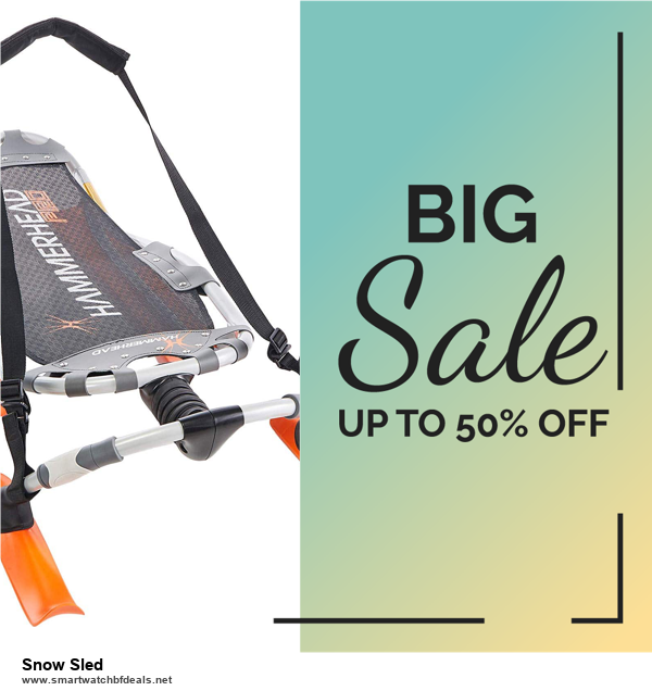 5 Best Snow Sled Black Friday 2020 and Cyber Monday Deals & Sales