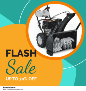 Top 10 Snowblower Black Friday 2020 and Cyber Monday Deals