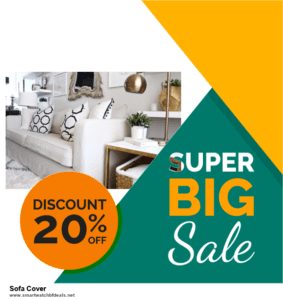 10 Best Sofa Cover Black Friday 2020 and Cyber Monday Deals Discount Coupons