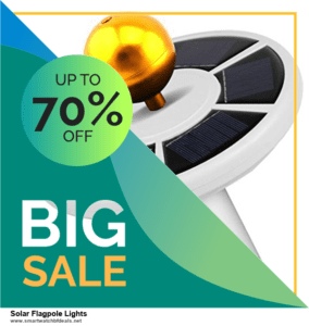 Top 11 Black Friday and Cyber Monday Solar Flagpole Lights 2021 Deals Massive Discount
