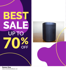 Top 11 Black Friday and Cyber Monday Sonos One 2020 Deals Massive Discount