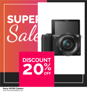 Top 10 Sony A5100 Camera Black Friday 2020 and Cyber Monday Deals