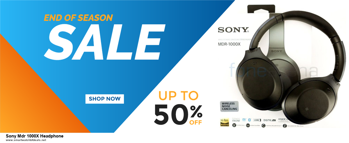 List of 6 Sony Mdr 1000X Headphone Black Friday 2020 and Cyber MondayDeals [Extra 50% Discount]