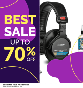 9 Best Sony Mdr 7506 Headphone Black Friday 2020 and Cyber Monday Deals Sales