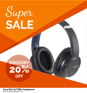 7 Best Sony Mdr Zx770Bn Headphone Black Friday 2020 and Cyber Monday Deals [Up to 30% Discount]