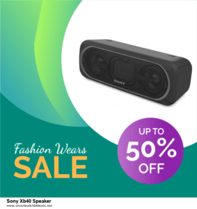 9 Best Sony Xb40 Speaker Black Friday 2020 and Cyber Monday Deals Sales