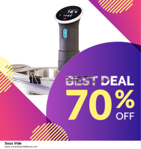 List of 6 Sous Vide Black Friday 2020 and Cyber MondayDeals [Extra 50% Discount]