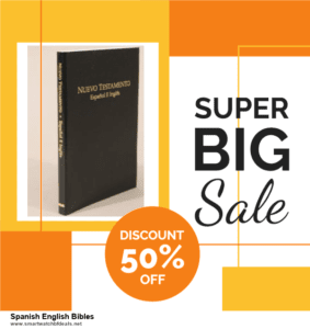 7 Best Spanish English Bibles Black Friday 2020 and Cyber Monday Deals [Up to 30% Discount]