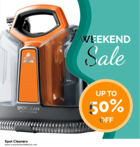 9 Best Spot Cleaners Black Friday 2020 and Cyber Monday Deals Sales