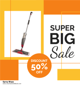 7 Best Spray Mops Black Friday 2020 and Cyber Monday Deals [Up to 30% Discount]