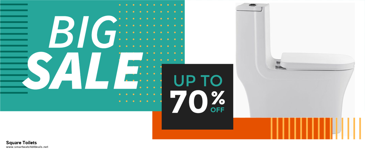Top 11 Black Friday and Cyber Monday Square Toilets 2020 Deals Massive Discount