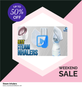 Top 5 Black Friday 2020 and Cyber Monday Steam Inhalers Deals [Grab Now]
