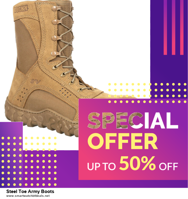 10 Best Steel Toe Army Boots Black Friday 2020 and Cyber Monday Deals Discount Coupons