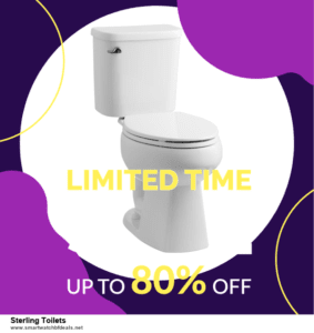 9 Best Black Friday and Cyber Monday Sterling Toilets Deals 2020 [Up to 40% OFF]