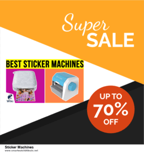 Top 11 Black Friday and Cyber Monday Sticker Machines 2020 Deals Massive Discount