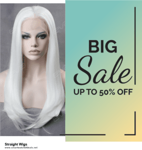 Top 11 Black Friday and Cyber Monday Straight Wigs 2020 Deals Massive Discount
