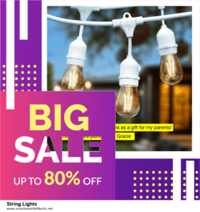 Top 5 Black Friday 2020 and Cyber Monday String Lights Deals [Grab Now]