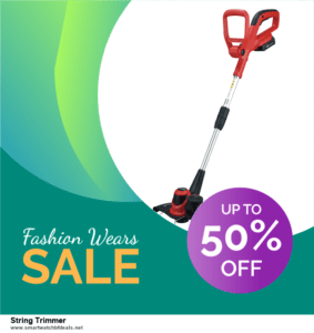 List of 6 String Trimmer Black Friday 2020 and Cyber MondayDeals [Extra 50% Discount]