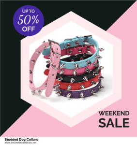 Grab 10 Best Black Friday and Cyber Monday Studded Dog Collars Deals & Sales