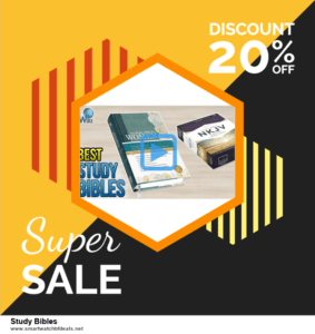 List of 6 Study Bibles Black Friday 2020 and Cyber MondayDeals [Extra 50% Discount]